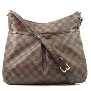 Auth Louis Vuitton Bloomsbury Pm Damier #2269L56